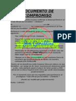 Documento de Compromiso Unika Tropical