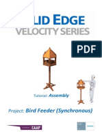 Bird Feeder Assembly SolidEdge Tutorial