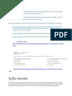 Ulfur Dioxide