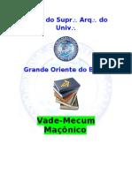 Vade-mecum Gob Atualizado 01-02-2013
