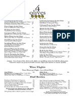 4 Olives Wines by the Glass 9-15-15