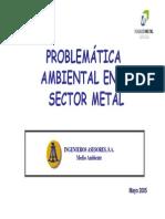 Medioambiente_Problemática Medioambiental Sector Metal