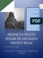 Proyecto Piloto Hogar de Ancianos