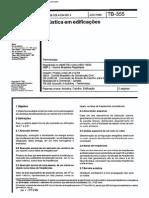 NBR 10830 Caixilho Para Edificação-Acústica Em Edifícios