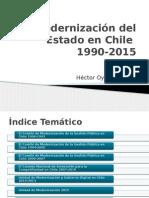 Modernización Del Estado en Chile 1990-2015