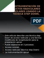 INSTRUMENTACIÓN DE CONDUCTOS RADICULARES EN MOLARES USANDO LA.pptx