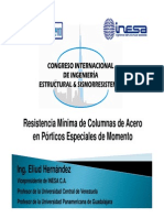 E. Hernadez, RMC de Acero en PEM