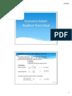 04TRK S2 - Konversi Reaktor Non-Ideal