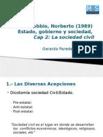 Presentacion Bobbio, Norberto (1989)