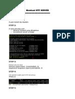 Create NTP Server