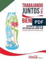 Informe Sustentabilidad 2013 Coca Cola GRI