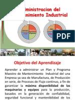 IM - 1.3 Gestión Del Mantenimiento Industrial