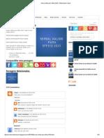 Serial Válido Para Office 2010 - Misturando Coisas