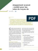 Developpement Avance d Un Rootkit Pour Les Modules Du Noyau