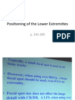 Foot & Ankle Positioning