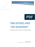Resumen Mr Keynes and the Moderns Krugman 2011