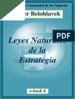 Belohlavek Peter - Leyes Naturales de La Estrategia