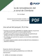 Propuesta de remodelación del parque zonal de Chimbote
