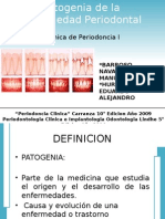 Patogenia de La Enfermedad Periodontal