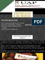 Exportacion de Mangos