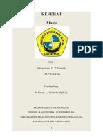 (4)Referat - Afasia - Dr. Fenny, Sp.S (K) (Autosaved)