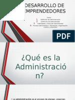 Presentación - El proceso administrativo