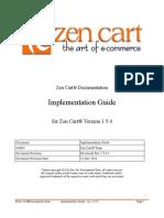 zen cart guiding book