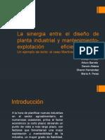 Exposición Diseño de Plantas Hernandez Barreto Perez Arrieta