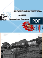 Exposicion Planificacion Teritorial