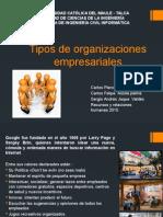 Tipos de Organizaciones Empresariales