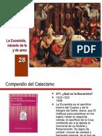 Cateq_es_28 Eucaristia Misterio de Amor y de Fe