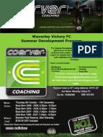 waverley victory fc summer development
