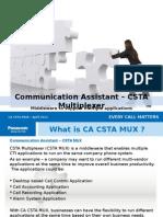 CA Csta Mux Presentation Sales Trainer