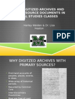 digital archives ppt