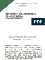 Psicologia Organizacional 10-4-15