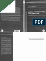 Basualdo e Sistema Polc3adtico y Modelo de Acumulacic3b3n Tres Ensayos Sobre La Argentina Actual