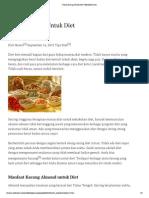 4 Jenis Kacang Untuk Diet _ TeknikDiet