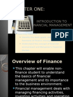 Chapter 1-Introduction to Financial Management