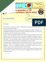 Gazette49 Juin 2015