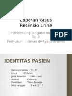 Retensio Urine Lapkas