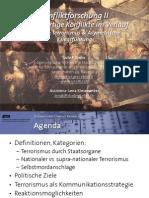 Int. Konfliktforschung II - Woche 03 - Terrorismus