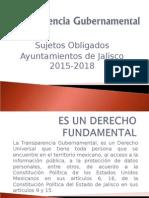 Capacitación de Transparencia Por La Lic. Hortencia Carvajal g