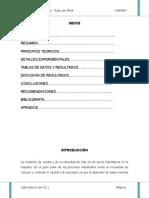 Nuestro Informe PITOT.2012-2