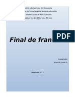 Final de Frances