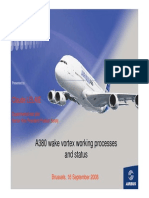 a380 wake vortex working processes and status