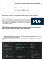 Los Fundamentos de Visual Studio Code