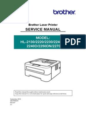 Brother HL-2130,2220,2230 2240D,2250DN,2270DW  pdf | 64 Bit