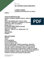 Formato de Historia Clinica 2006 Pediatrica