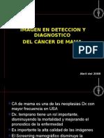 Imagen en Deteccion y Diagnostico Cancer de Mama