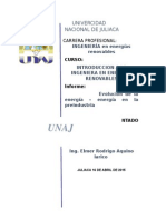 Informe de Energia en energias renovables